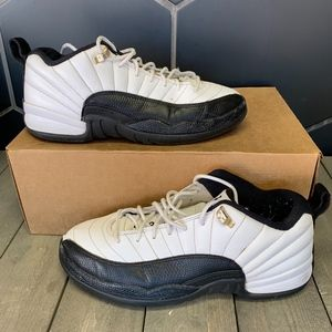 Air Jordan 12 Retro Low GS Taxi Kids Shoe Size 7Y